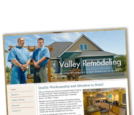 Valley Remodeling Website