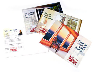 Postcard Marketing for a business in Corvallis and Albany - Smith Glass