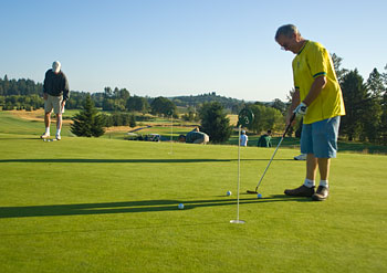 Learning golf and learning social media have several things in common - notably, practice and patience are both important.