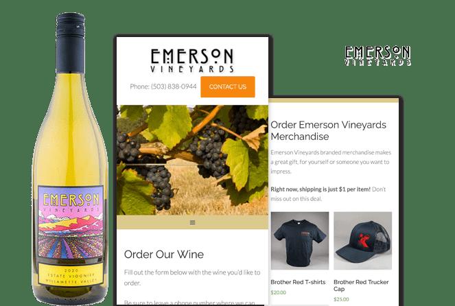 Emerson Vineyards Testimonial