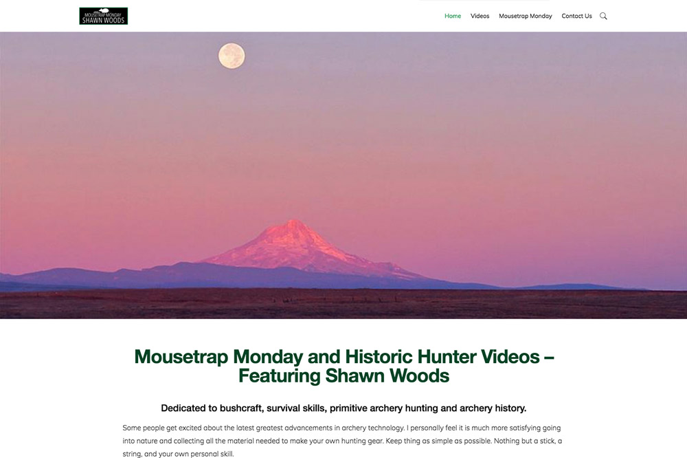 Mousetrap Monday website in Corvallis, Oregon