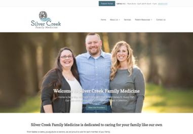 Silver Creek Family Medicine Website in Silver Falls, Oregon