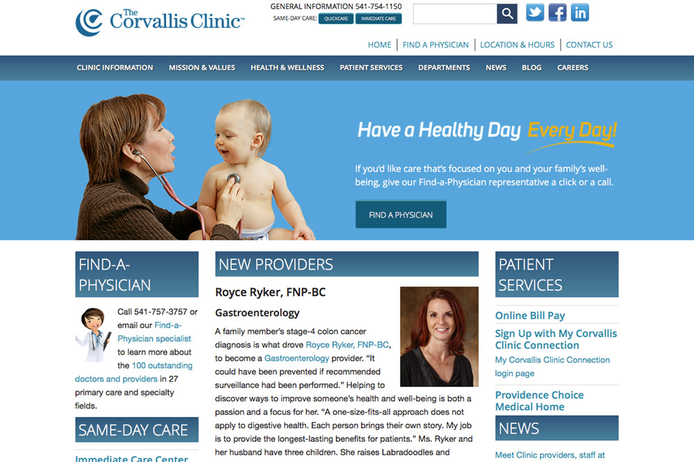 The Corvallis Clinic